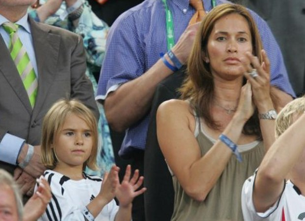 Jurgen's wife Debbie chin and his daughter Laila Klinsmann