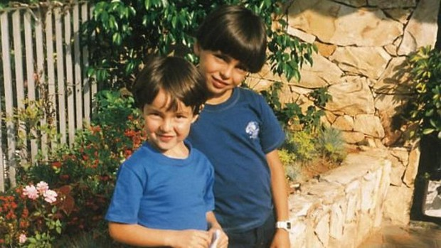 Little Kaka and his brother