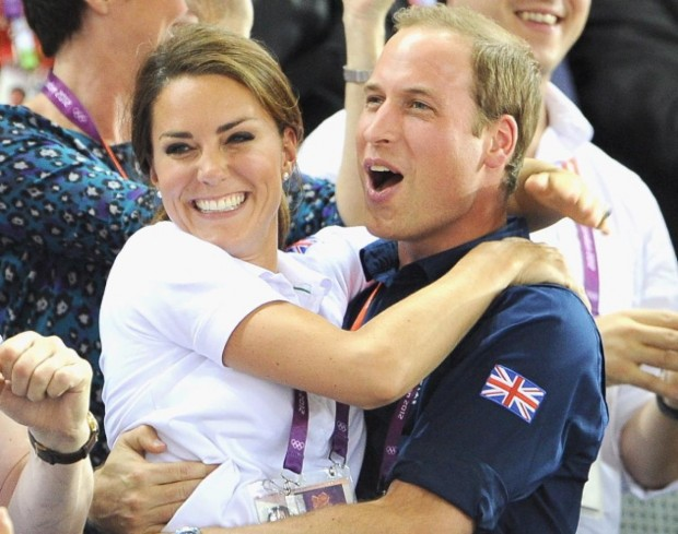 Kate Middleton and Prince Williams at Olympics