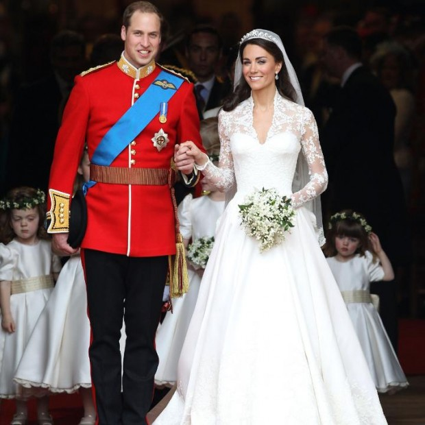 Kate Middleton on Her Wedding