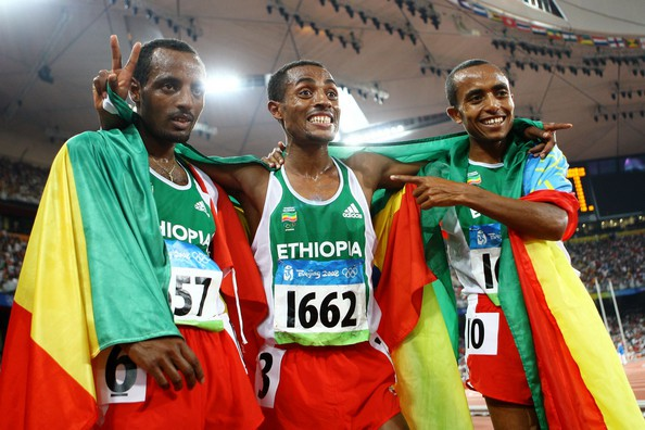 Bekele brothers celebrations