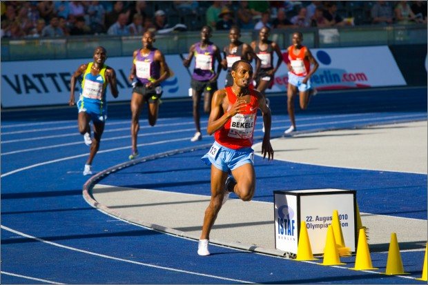 Kenenisa's brother Tariku Bekele