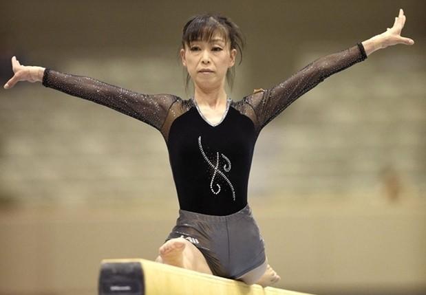 Kohei Uchimura mother Shuko Uchimura