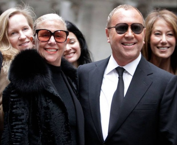 Michael Kors with His Mother Joan Hamburger