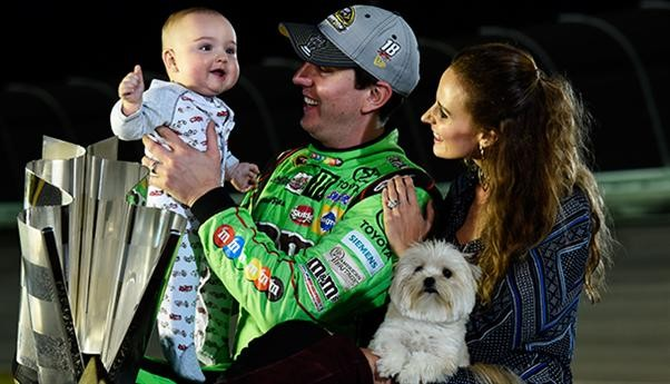 Kyle Busch with His Family