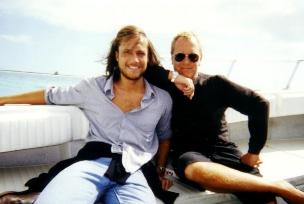 Michael and Lance enjoying their Vaccation