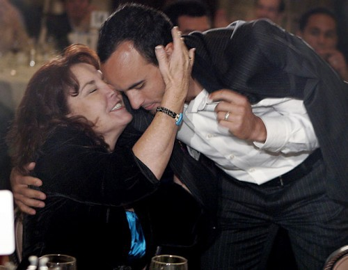 Landon Donovan and his mother Donna Kenney-Cash
