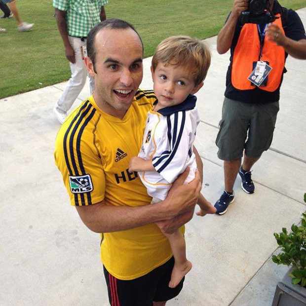 Landon with his nephew