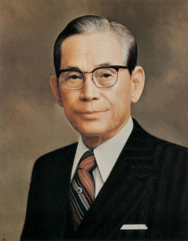 Lee Jae-Yong's grandfather and Samsung Group founder Lee Byung-chul