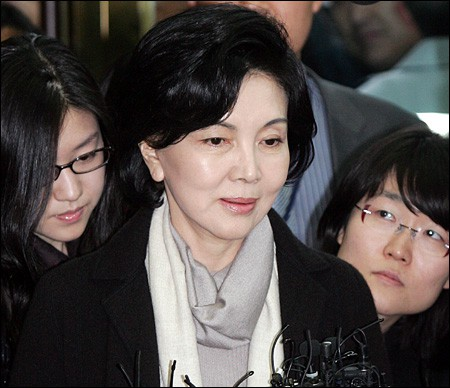 Lee Jae-Yong's mother Hong Ra-hee