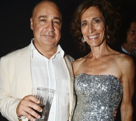 Len Blavatnik and his wife Emily Blavatnik