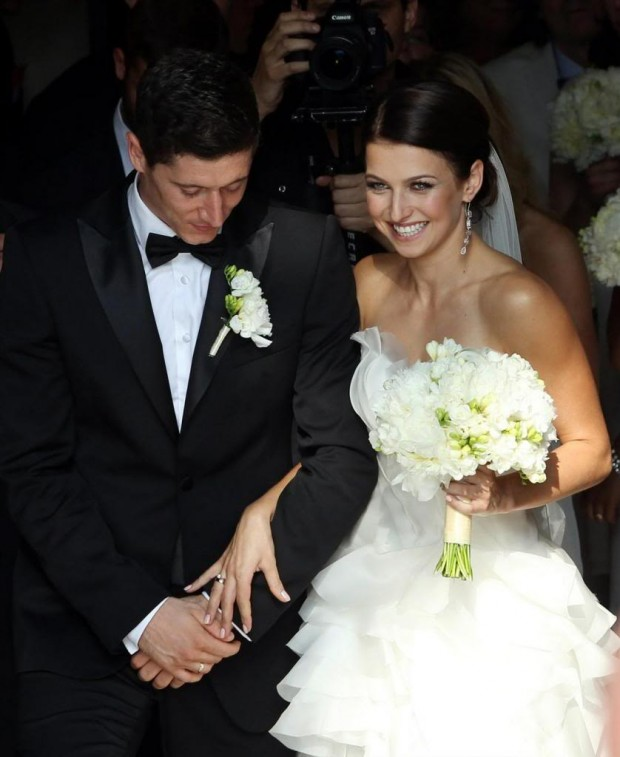 Wedding Moments of Robert Lewandowski and Anna