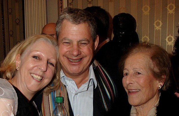 Nichola McAuliffe, Cameron Mackintosh and his mother