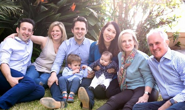 Malcom Turnbull and his entire family