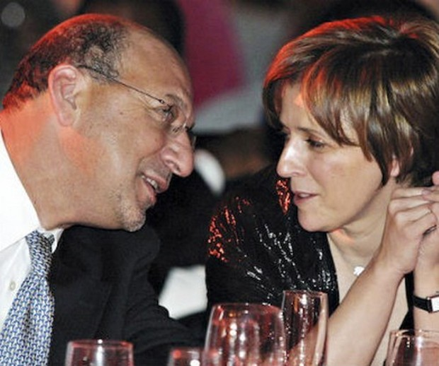 Maria Ramos With her Husband trevor manuel