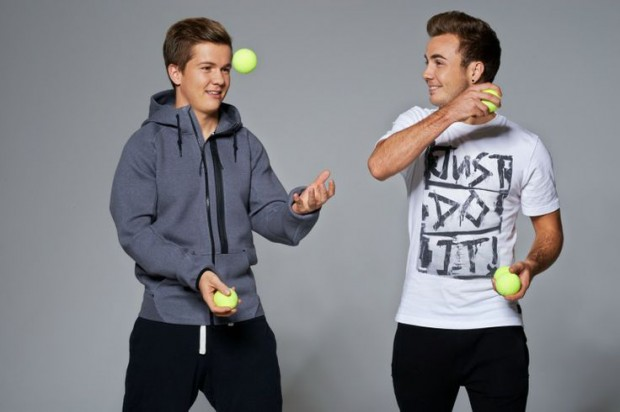 Götze brothers Mario and  Fabian