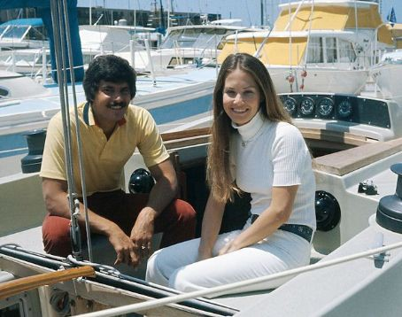 Suzy with her husband Mark Spitz