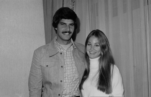 Mark Spitz with his wife Suzy Weiner