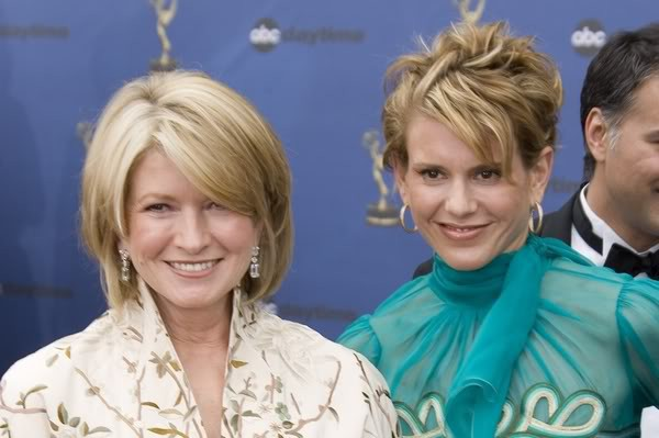 Martha Stewart and her daughter Alexis Stewart