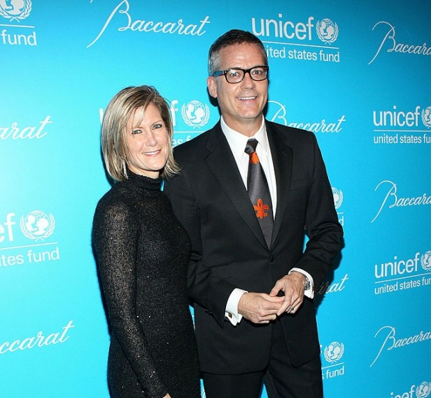 Mary Callahan and Philip Erdoes At UNICEF Event