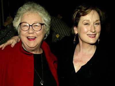Meryl Streep with her mother Mary Wilkinson Streep