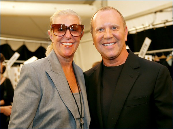 Michael Kors and his Mom