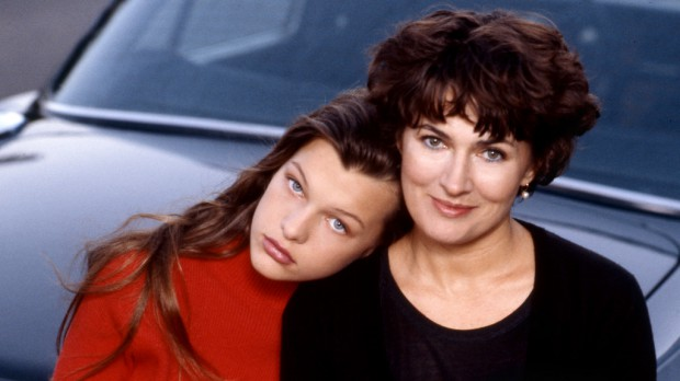 Young Milla with her mom
