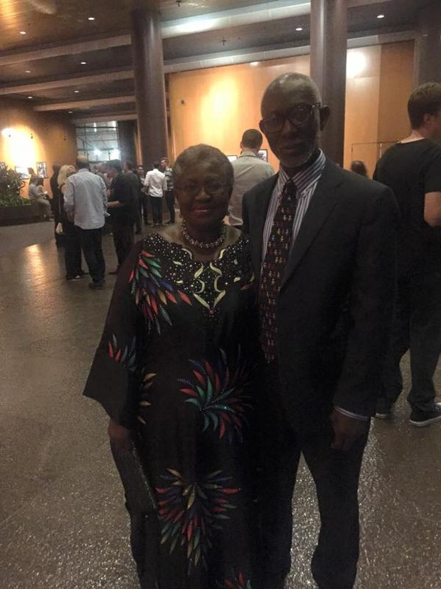 Ngozi Okonjo-Iweala With Husband ikemba iweala