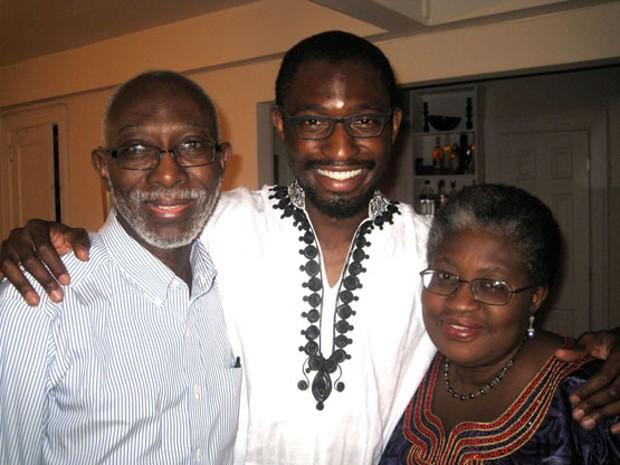 Ngozi Okonjo-Iweala With her Son Uzodinma Iweala