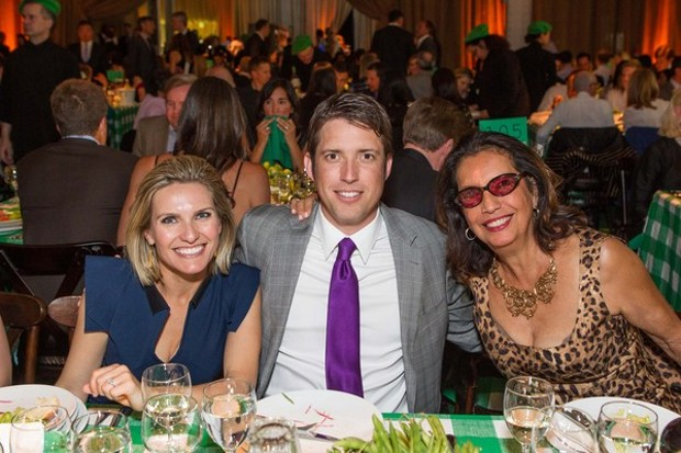 Nick Woodman With His Wife Jill Woodman and his Mother Concepcion Federman