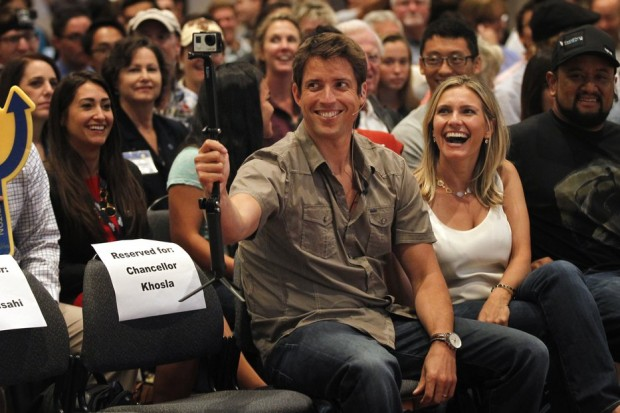 Nick Woodman With His Wife Jill Woodman