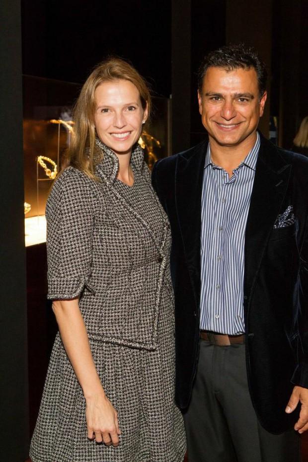 Gisel and Omid Kordestani