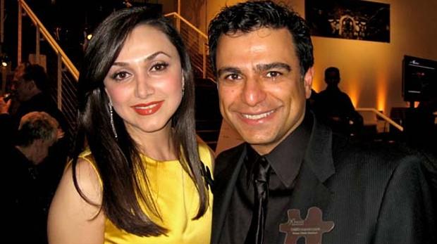 Omid Kordestani and Bita Daryabari