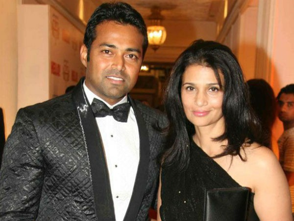 Leander Paes and his former spouse Rhea Pillai