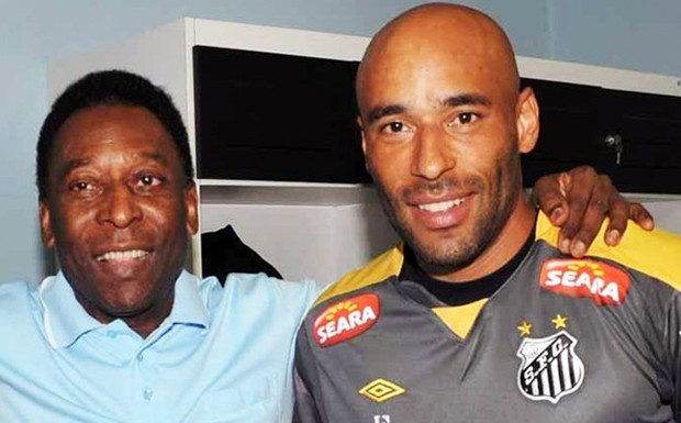 Pele with his son Edinho