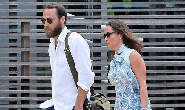 Kate' Brother James Middleton and Sister Pippa Middleton
