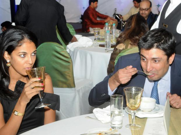 Rishad Premji and his wife Aditi