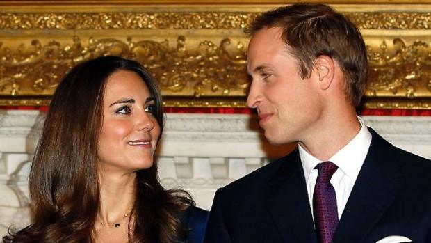 Prince Williams and Kate Middleton