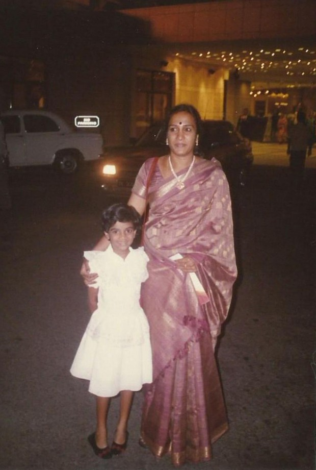 Little Sindhu with her mom Vijaya