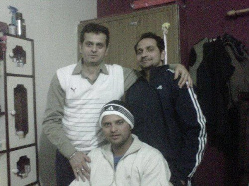 Raina's Brothers Mukesh and Naresh