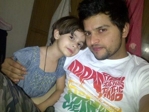 Raina with His Niece