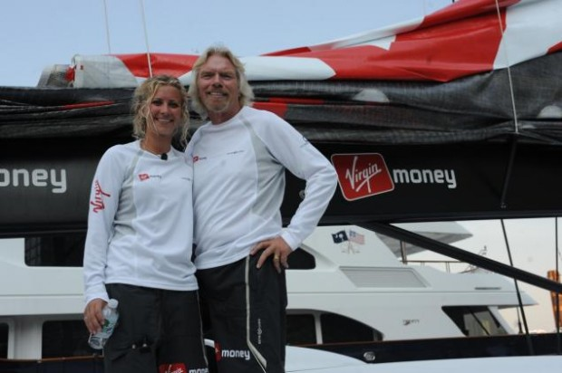 Branson with his daughter Holly