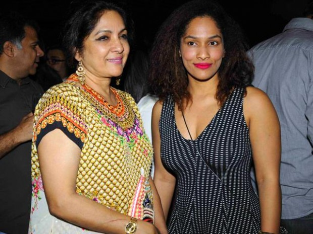 Neena Gupta with her daughter Masaba