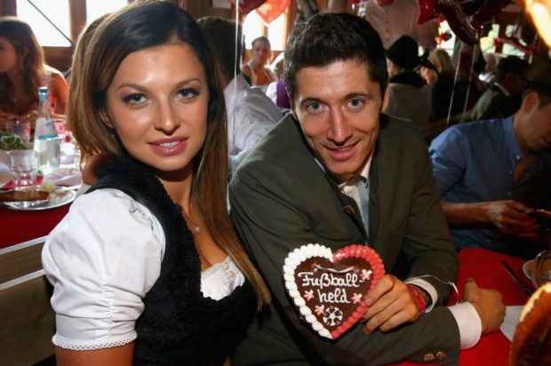 Lewy with his Love Lady Anna