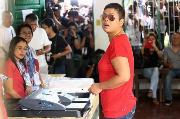 Rodrigo Duterte's duaghter Sara