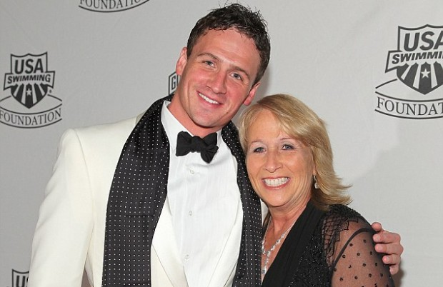 Ryan Lochte and his mom Ileana Lochte
