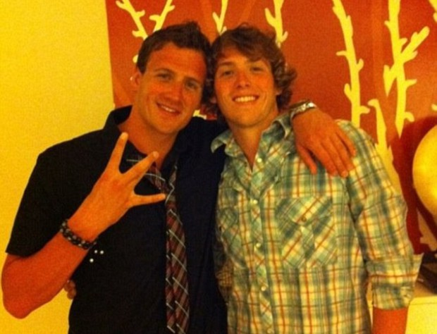 Ryan Lochte and Devon Lochte