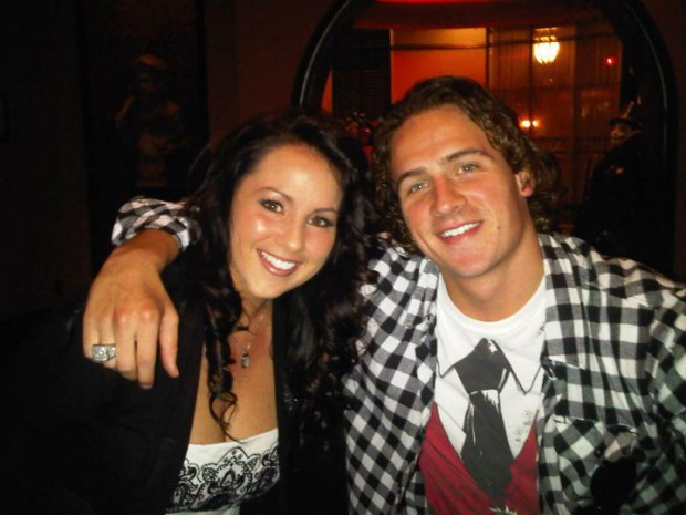Ryan Lochte and his sister Kristin Lochte