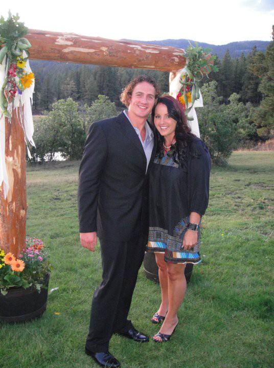 Kristin Lochte with his brother Ryan Lochte