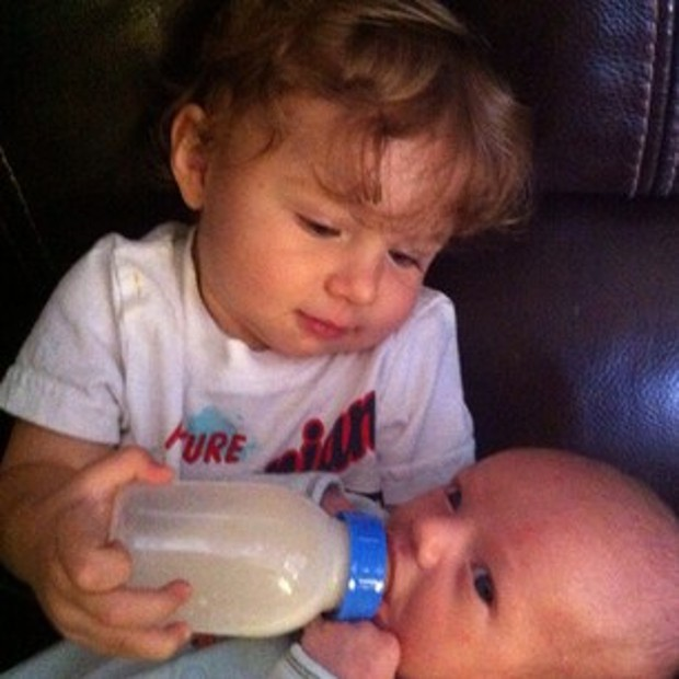 Ryan Lochte nephews Zaydin and Trustin